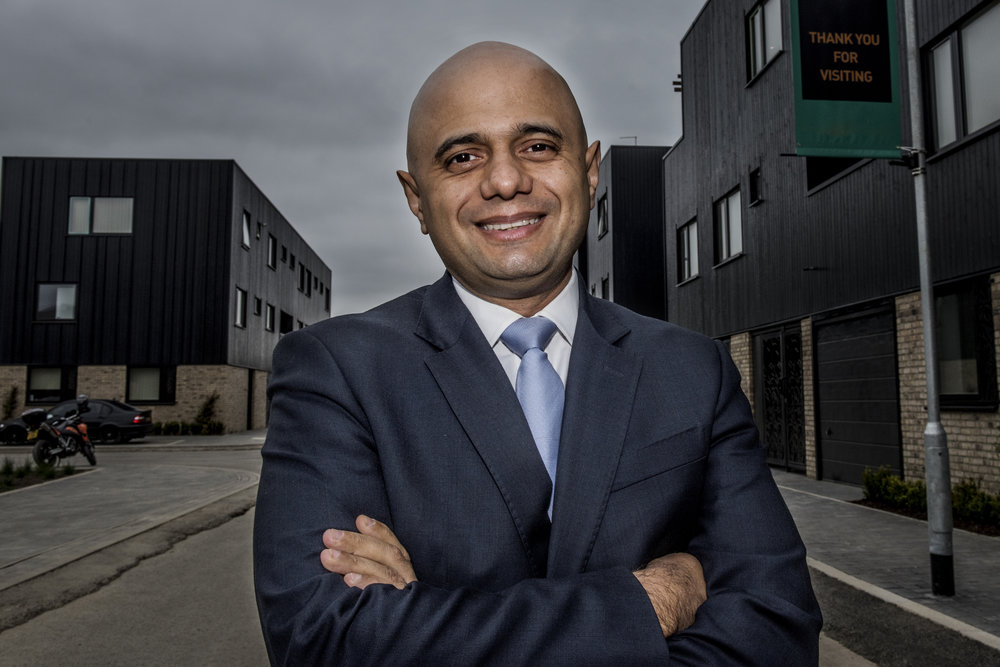The Right Honourable Sajid David MP