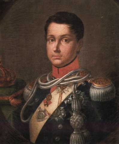 King Ferdinando II in 1830