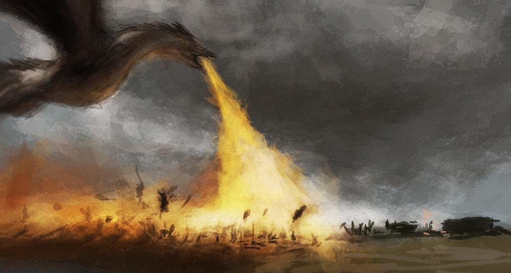 Game of Thrones: The Spoils of War - Digital Illustration