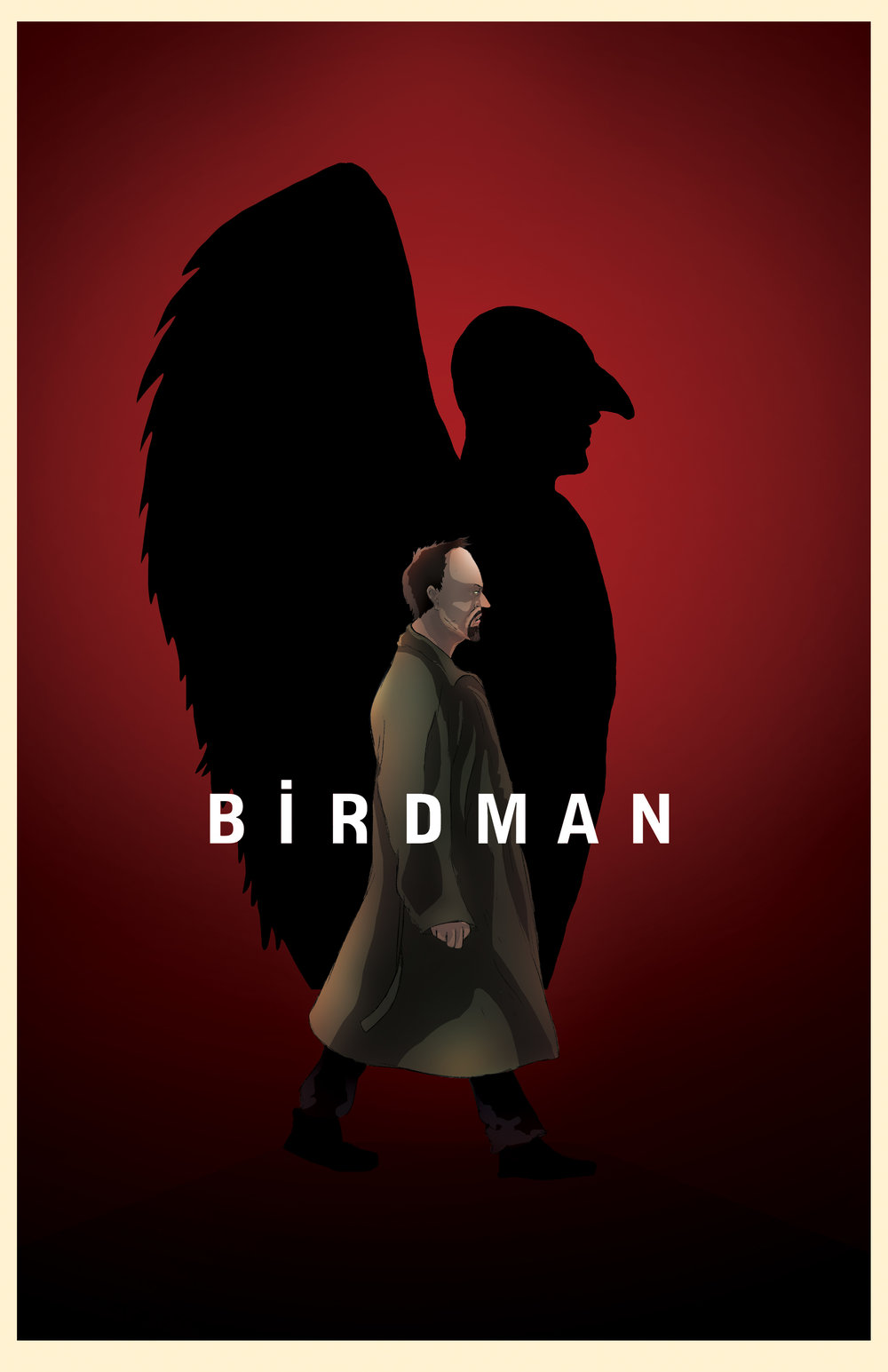Birdman (The Unexpected Virtue of Ignorance) - Film Poster