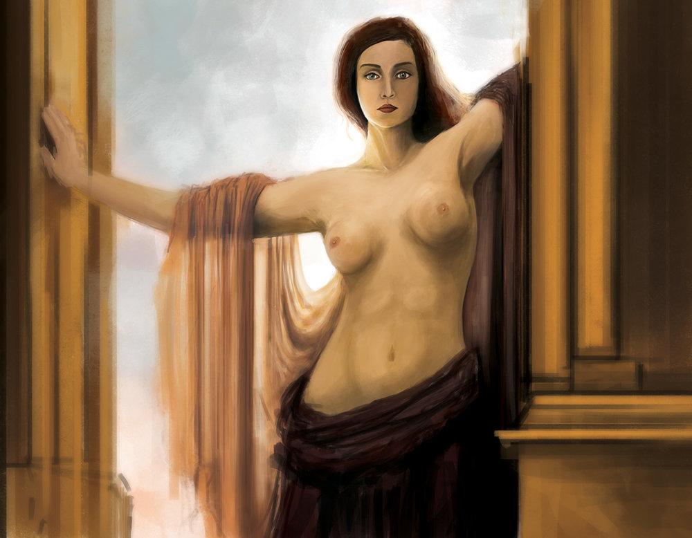The Gates of Heaven - Digital Illustration