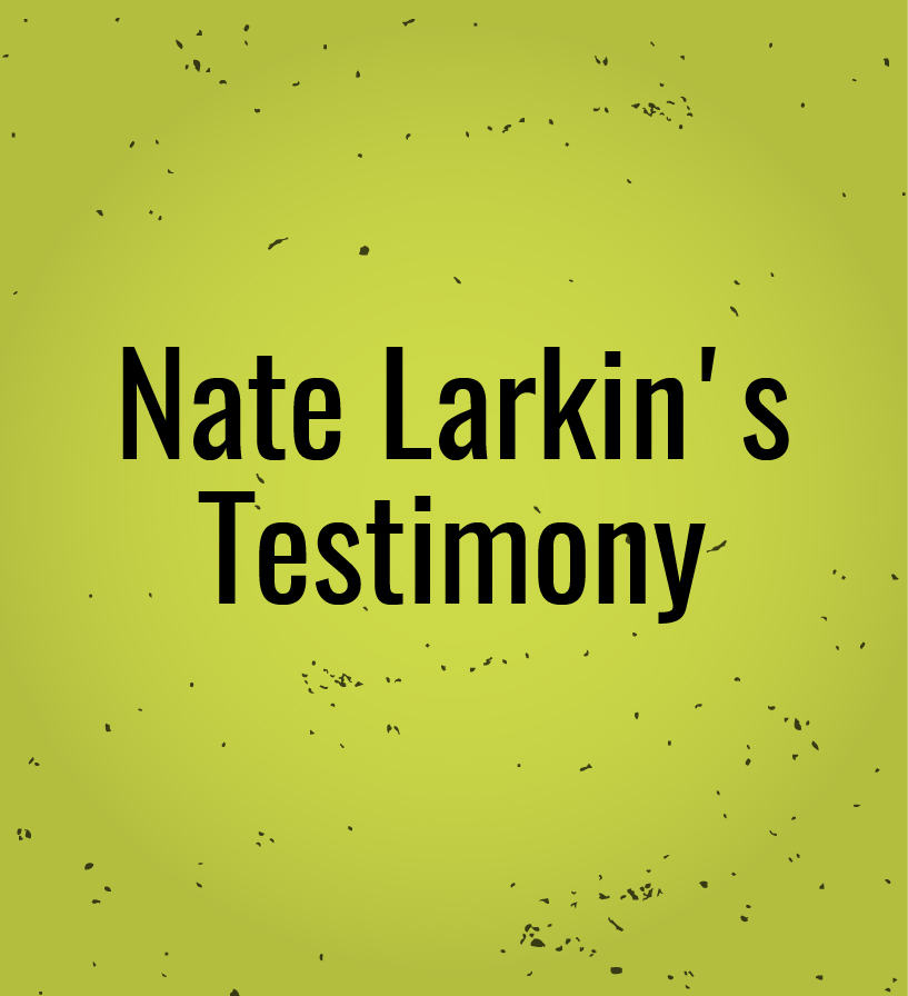 LISTEN TO NATE LARKIN'S POWERFUL TESTIMONY ON OVERCOMING AN ADDICTION TO PORNOGRAPHY.