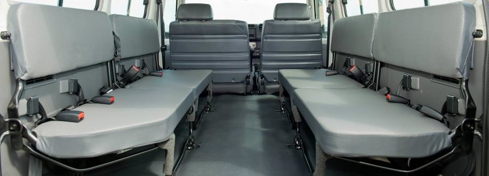 Increased Transport Capacity With Seating For 13 Passengers