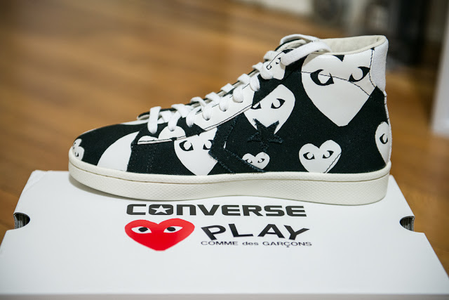 15ab258f157336 The CDG Play Pro Leather is currently only available from the Dover Street  Market web store or the Comme des Garcons flagship in New York City.