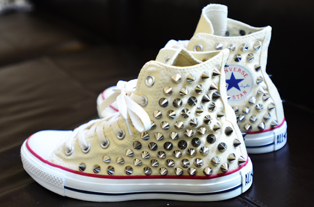 25c05b9f8e9b How to Guide  Studded Converse Chuck Taylor Sneakers — SOLIFESTYLE®