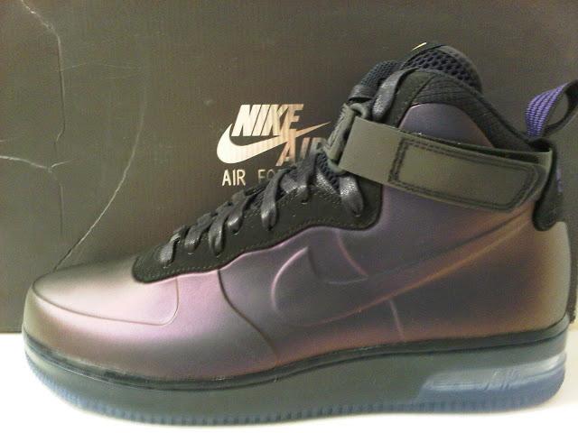 bd61299abce9 ... Nike Air Force One Foamposite Kobe Sneaker - YouTube One of the more . Nike  Air Force 1 Foamposite QS Kobe Eggplant - Varsity Purple ...