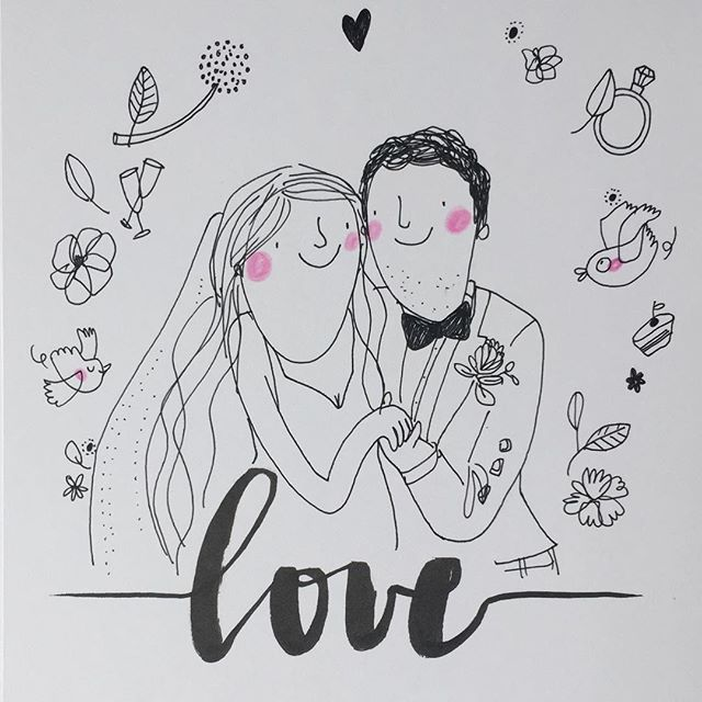 L O V E  #natasha&stuart  #weddingcard #wedding #hochzeitsillustration #lovehandlettering #illustration #illustrativheiraten #illustrationart #illustrator #berlin #weddinginspiration #weddingillustration #weddingday #love