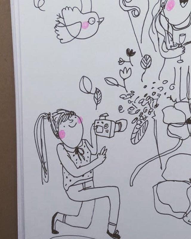 Best #hochzeitsfotografin in the world from @ganz_in_weise_fotografie ❤️ #undaction #fotografie #hochzeit #hochzeitsfotografie #hochzeitsfotografieberlin #ganzinweise #illustration #schnellzeichnung #fastsketching #hochzeitsillustration #hochzeitsillustratorin #illustration #illustratorberlin