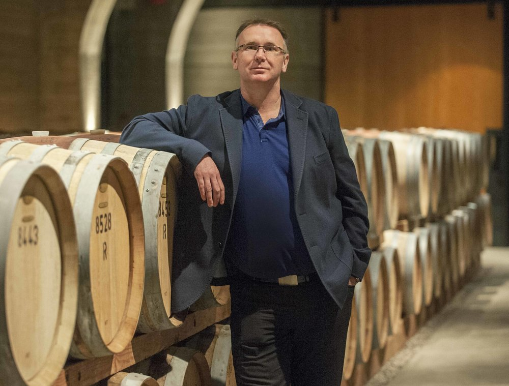 Mission Hill's Chief Winemaker Darryl Brooker