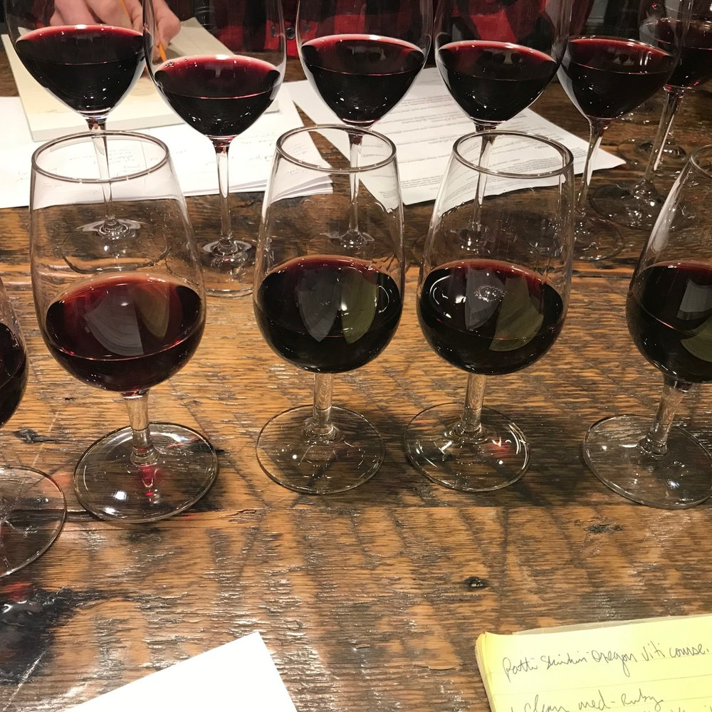 Wines poured and we're off to the races
