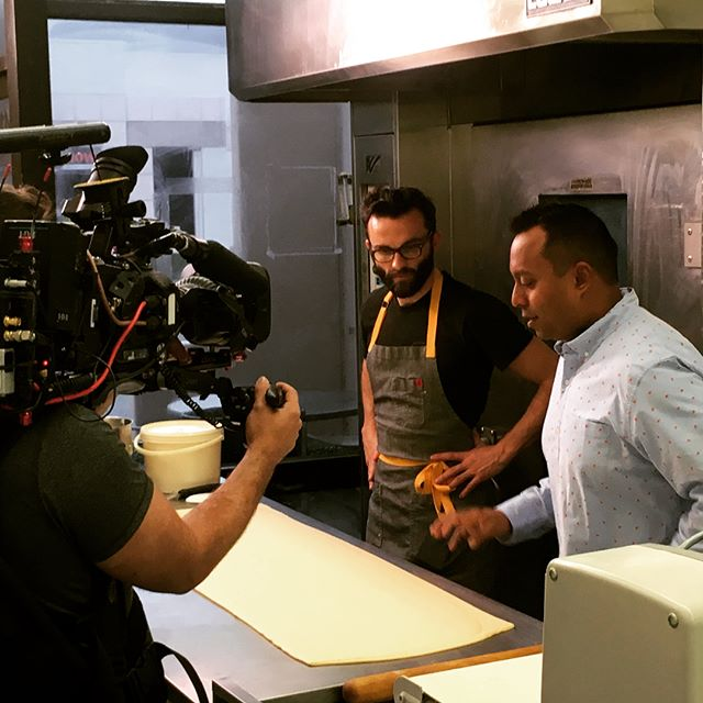 "Oh my Go'sh…Bree'Osh was chosen to be on a TV show which airs this Wednesday May 23rd on the ""Cooking Channel""‼️ When we arrived in the USA from Paris 3 years ago, we've never thought that we would be on TV but thanks to our community, this local guy put Santa Barbara📍our city, on the map once again!! Shout out to @blackbookali and his crew for being a great team to work with ! Mille merci 🙏 Link in the bio  On the air also: @flagstonepantry @sb_shellfishco @davesdogs805 . . . #cheapEats #cookingchannel @cookingchannel #santabarbarafoodie #sbfoodie #season4episode11 #breeoshbakery #bestbreakfastsandwich #startingfromscratch #eggsandbaconbrioche #montecito #coastvillageroadmontecito"