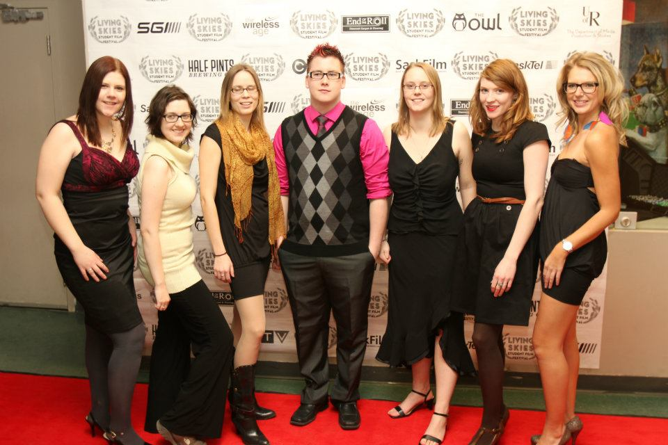 Festival Organisers strut their stuff on the 2012 Red Carpet.  Photo by Zaul McLennan