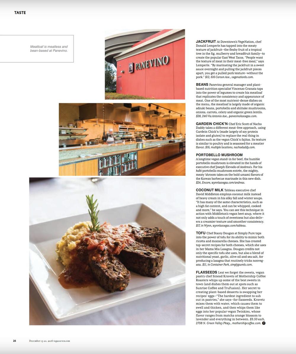 Panevino Grille for Vegas Seven Magazine