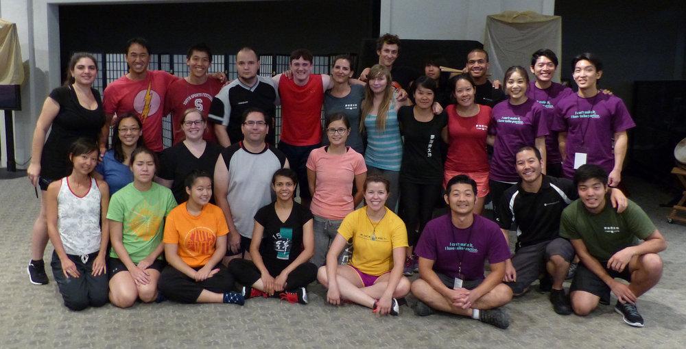 2015 Summer Intensive participants, photo by Viola Lee