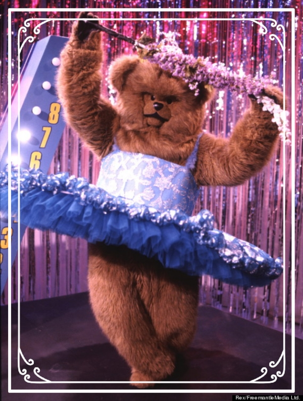 This is Bungle. He runs the print and production stuff. He likes mini-golf, ice fishing, and dancing like a lady.