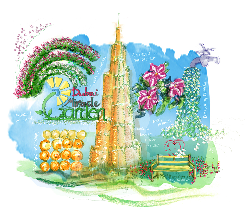 Miracle Garden by illustrationsbyB
