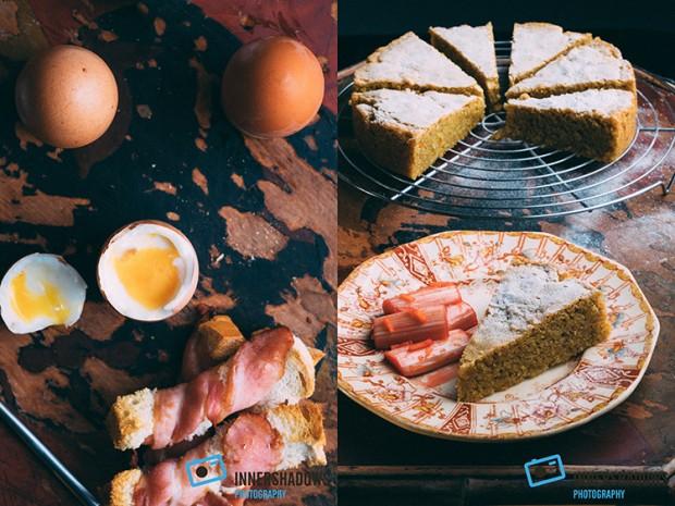 Food Photography using a new lighting setup