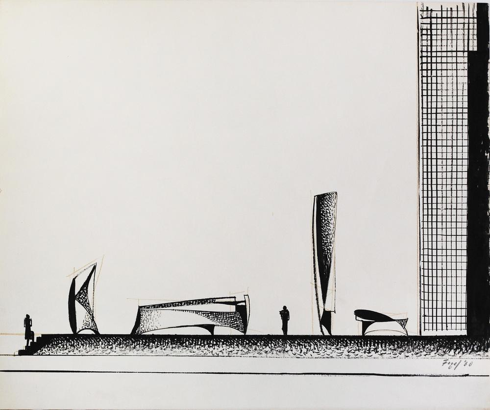 Fogel, Seymour-Architectural I, 1960.jpg