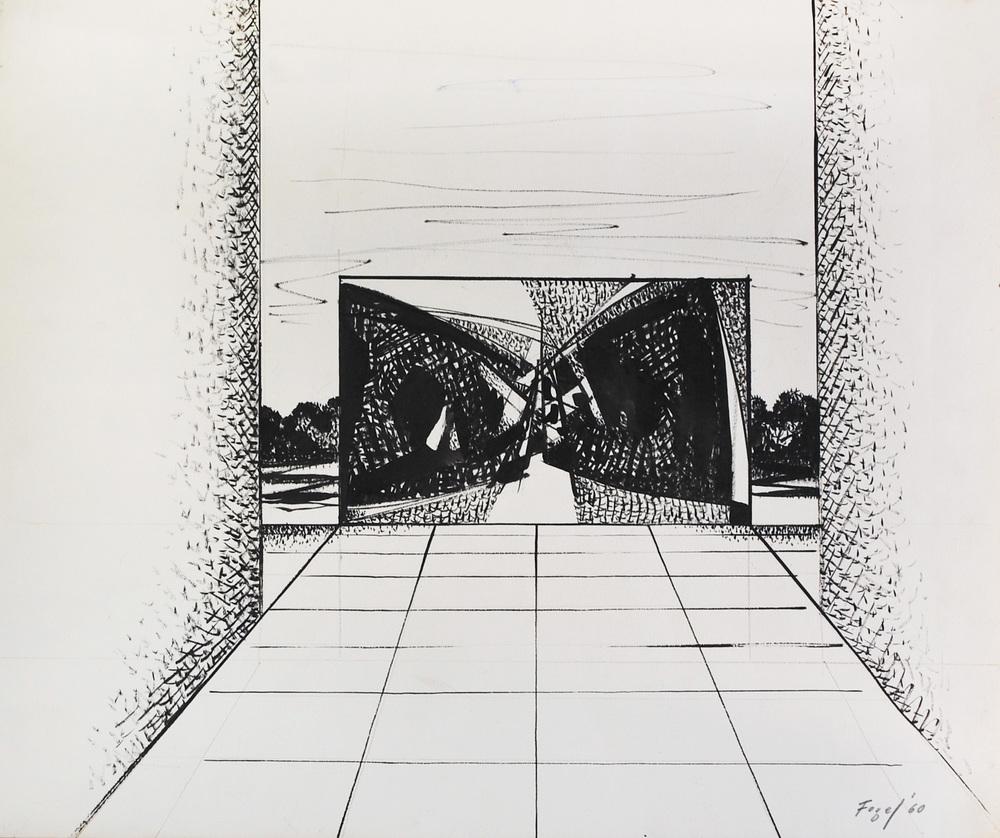 Fogel, Seymour-Architectural II, 1960.jpg