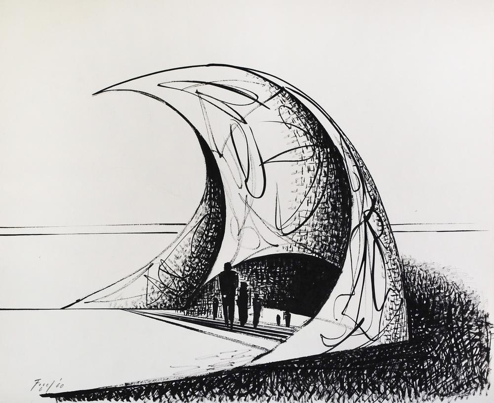 Fogel, Seymour-Architectural III, 1960.jpg