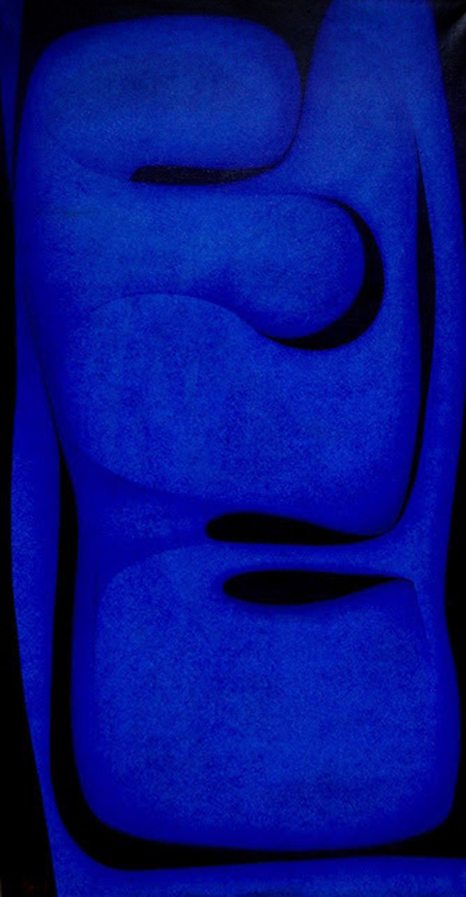Seymour Fogel - Transcendental Form in Blue.jpg