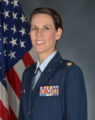 Maj. Marianne Nassef, Chaplain, Dyess AFB