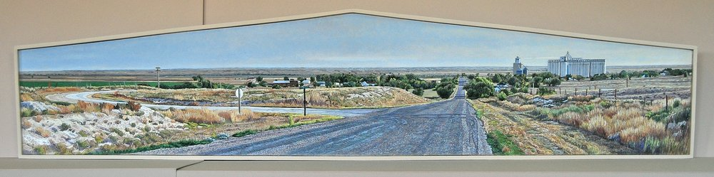 "Lloyd Brown, ""Kendall, Kansas, US Highway 50,"""