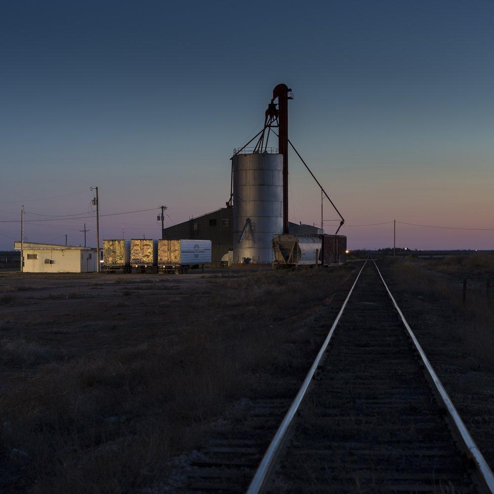 Ashton Thornhill, Night Tracks – Ropesville, Texas, 2015