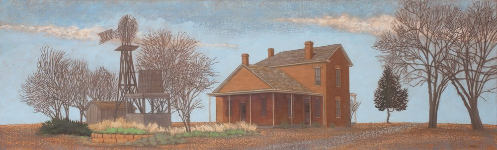 Randy Bacon, The Oldest House, 2013