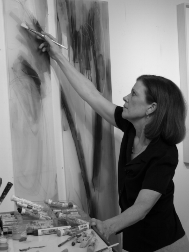 Margaret Smithers-Crump in her studio.