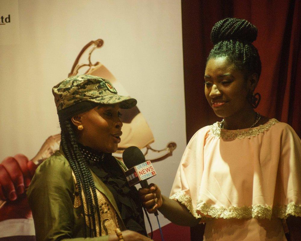 Singer/dancer 'Nana Akosua Agyapong'
