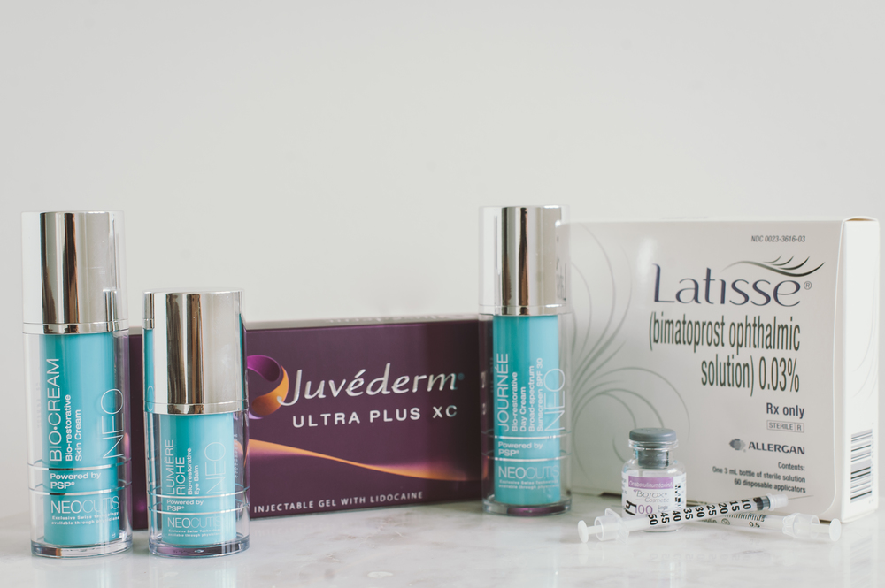 GRAND PRIZE at 7:30pm: 1 syringe of juvederm, botox, latisse, hydrafacial md, neocutis lumber eye cream, biocream and journee ($1891 value!!!!!)