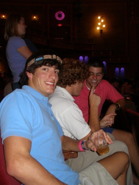 Nate and I at DBT in 2006 at the Tennessee Theatre.