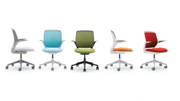 As The New Palette Received Positive Feedback From The Field, We Adapted It  For The 3D Knit Of The Ergonomically Adaptable Think Chair And The Plastics  Of ...
