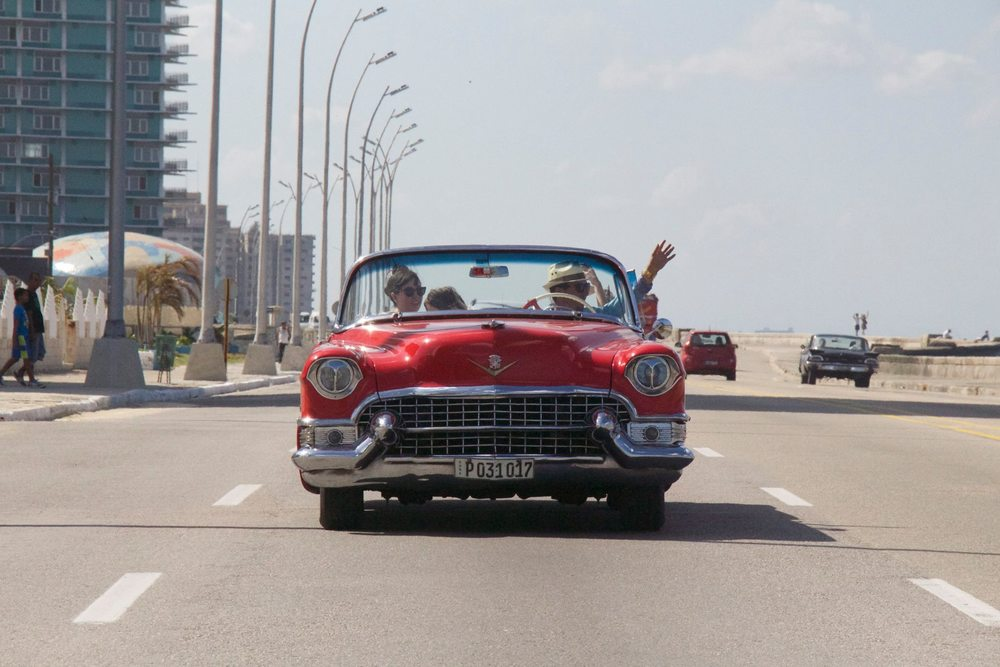 Havana is home to legendary spots of luxurious times of old, including the Riviera which was partly owned by Lucky Luciano. There is a lot of old mob influence and we regularly had Rat Pack music playing as we cruised down the highways.