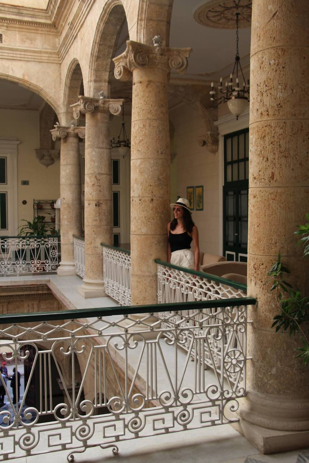 The architecture and detail within the buildings rivaled the edifices. These pictures only provide glimpses into the splendor and lavishness that must have been the Cuba of old.