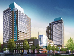 The 88. High-rise mixed-use in Downtown San Jose