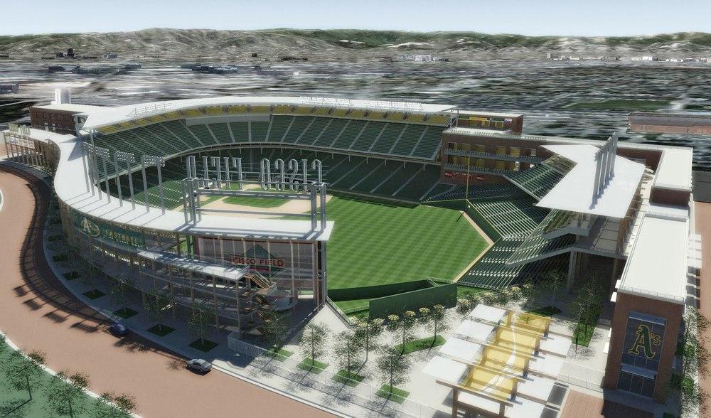 A's stadium proposal in San Jose