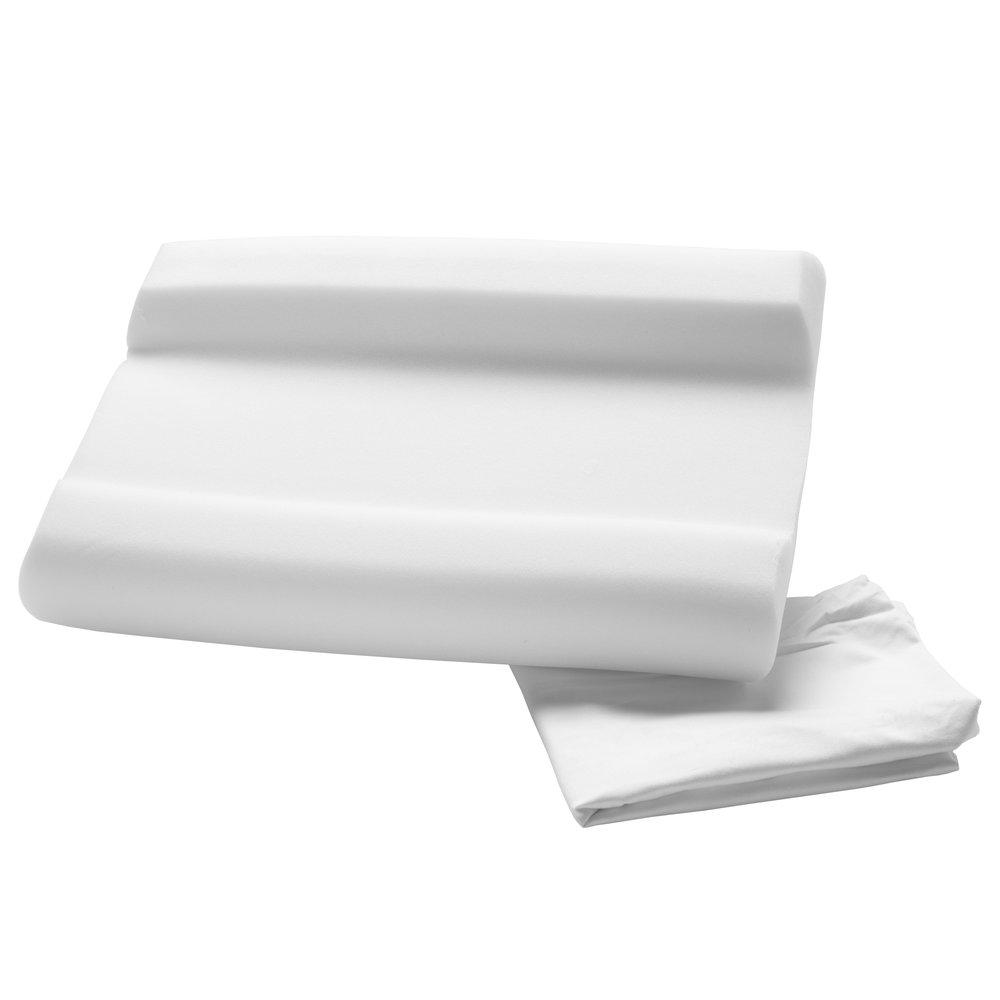 carved foam cervical pillow