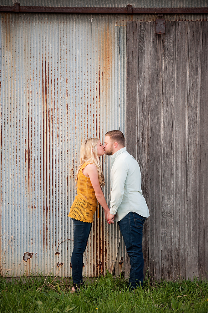 Metal Barn Engagement picture