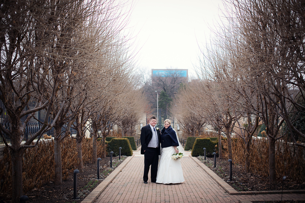 Kauffman Memorial Gardens Wedding