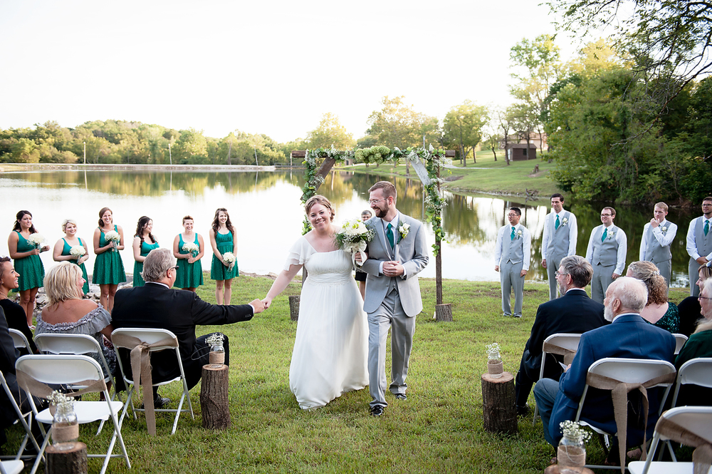Lake Doniphan Wedding Excelsior Springs