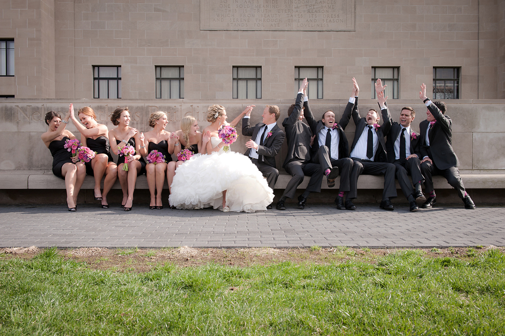 Nelson-Atkins Museum Wedding