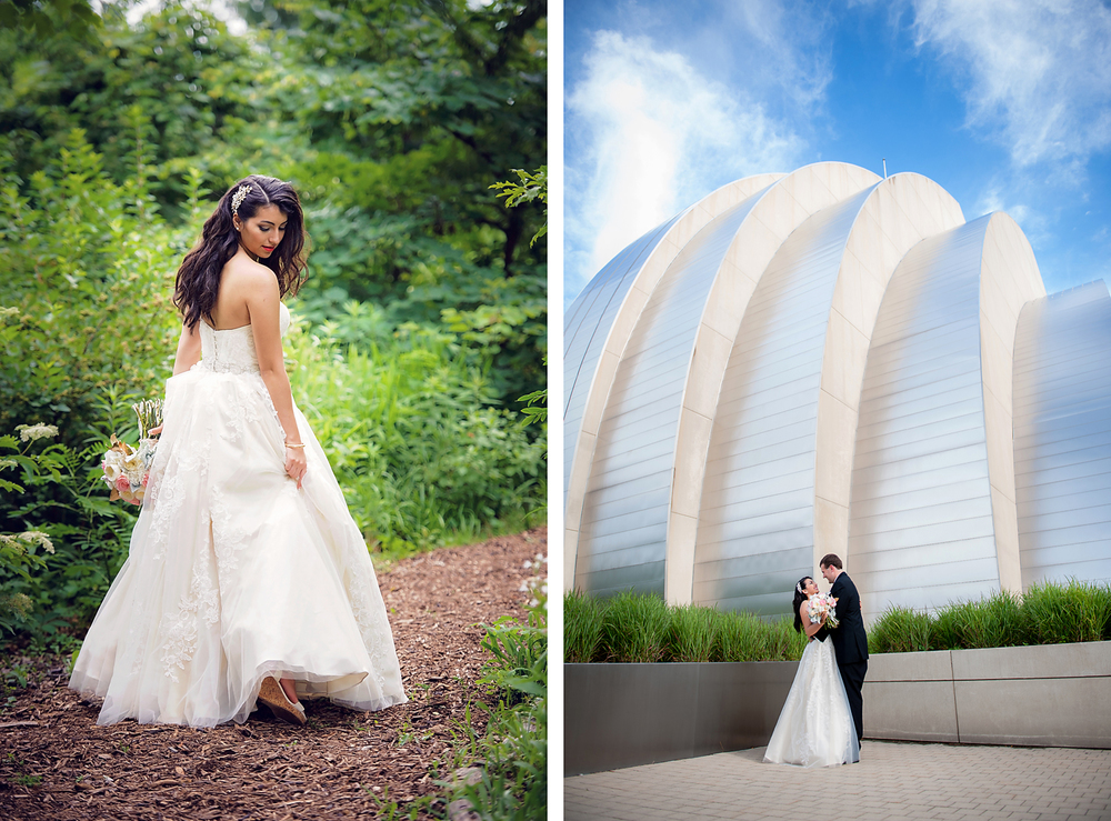 Kauffman Performing Arts Bridal Portrait