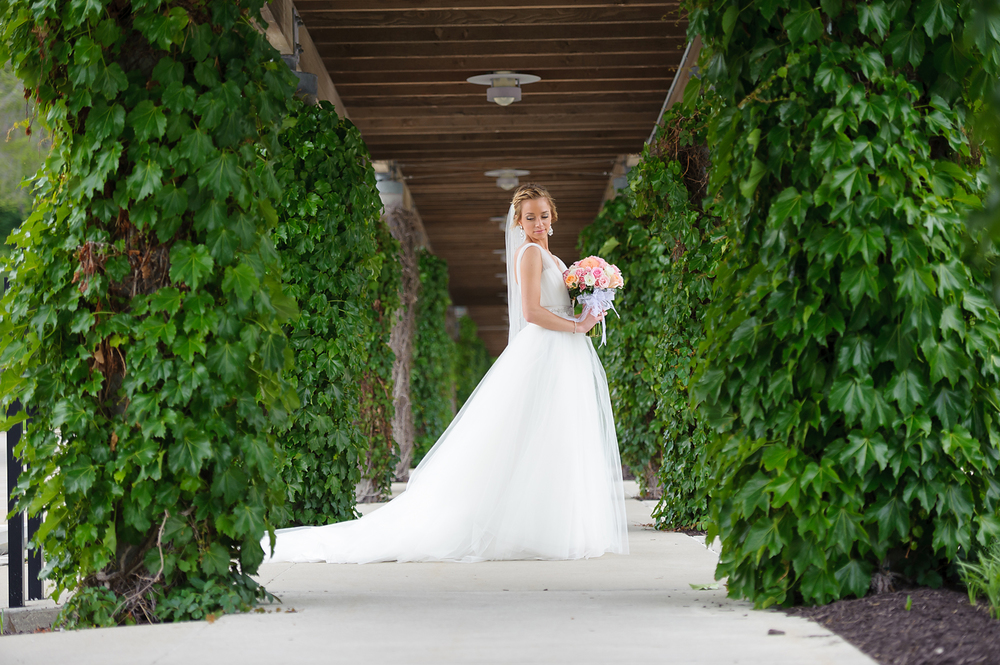 Wedding Bridal Portrait in Kansas City