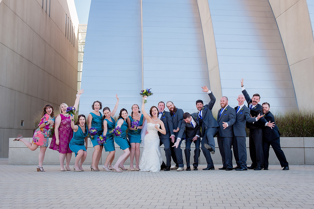 Kauffman Performing Arts Center Wedding Photographer