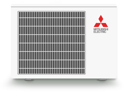 Outdoor Ductless Heat Pump Unit