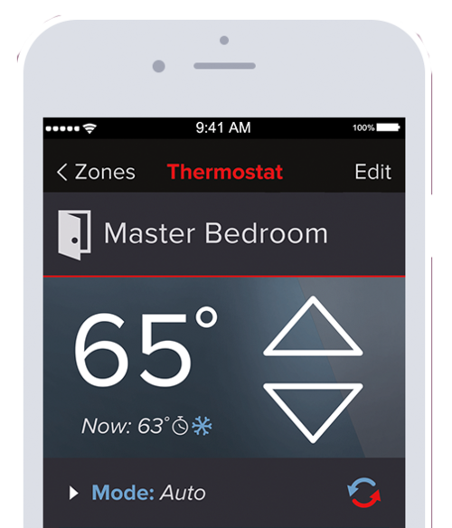 Ductless Heat Pump Control App