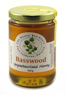 Example of basswood honey (note the golden hue): Image source   here