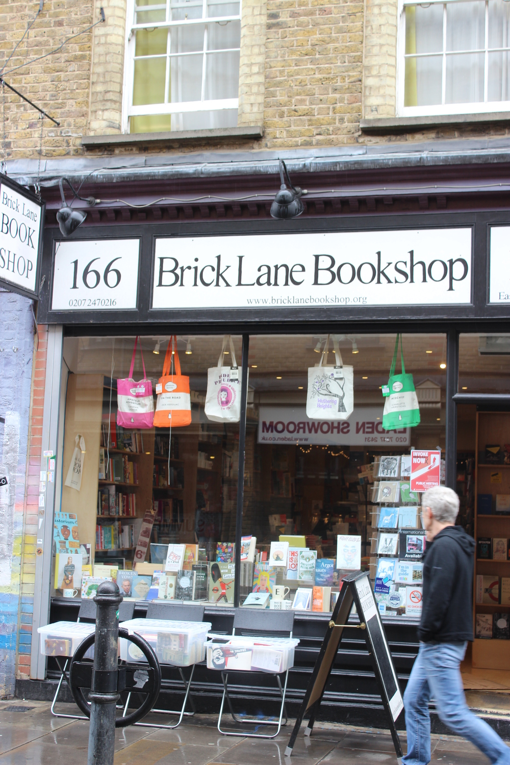 A book shop or two...